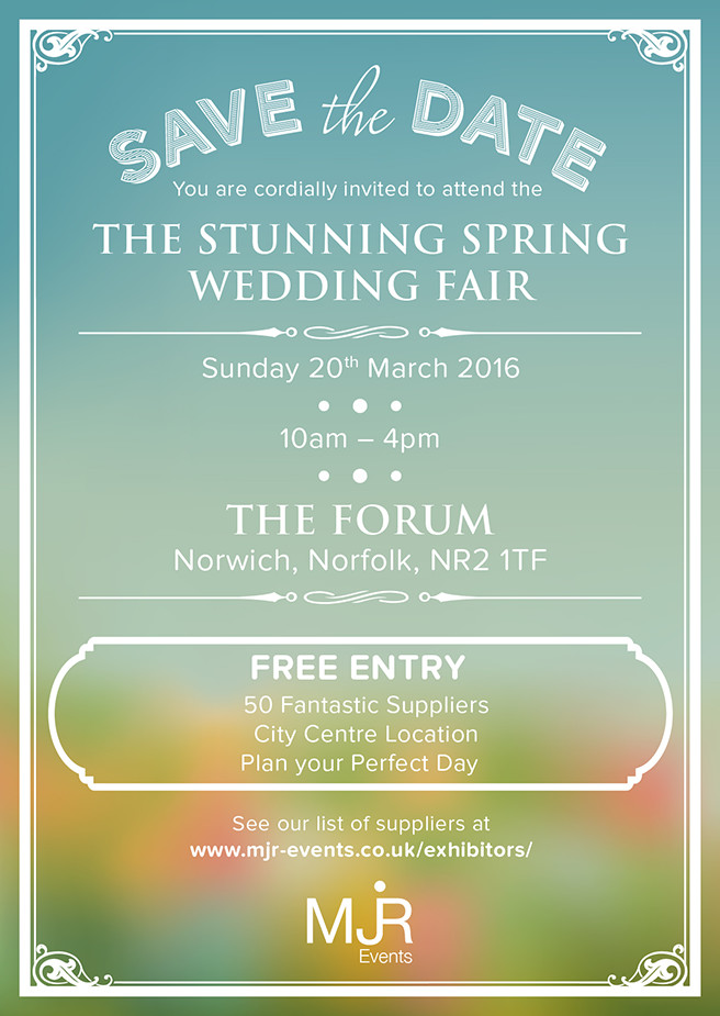 The Stunning Spring Wedding Fair 2016