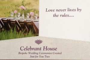 Celebrant House Wedding Ceremonies