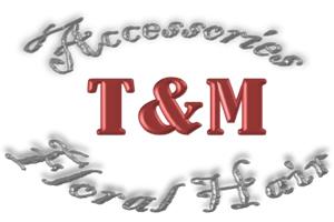 T&M Floral Hair Accessories