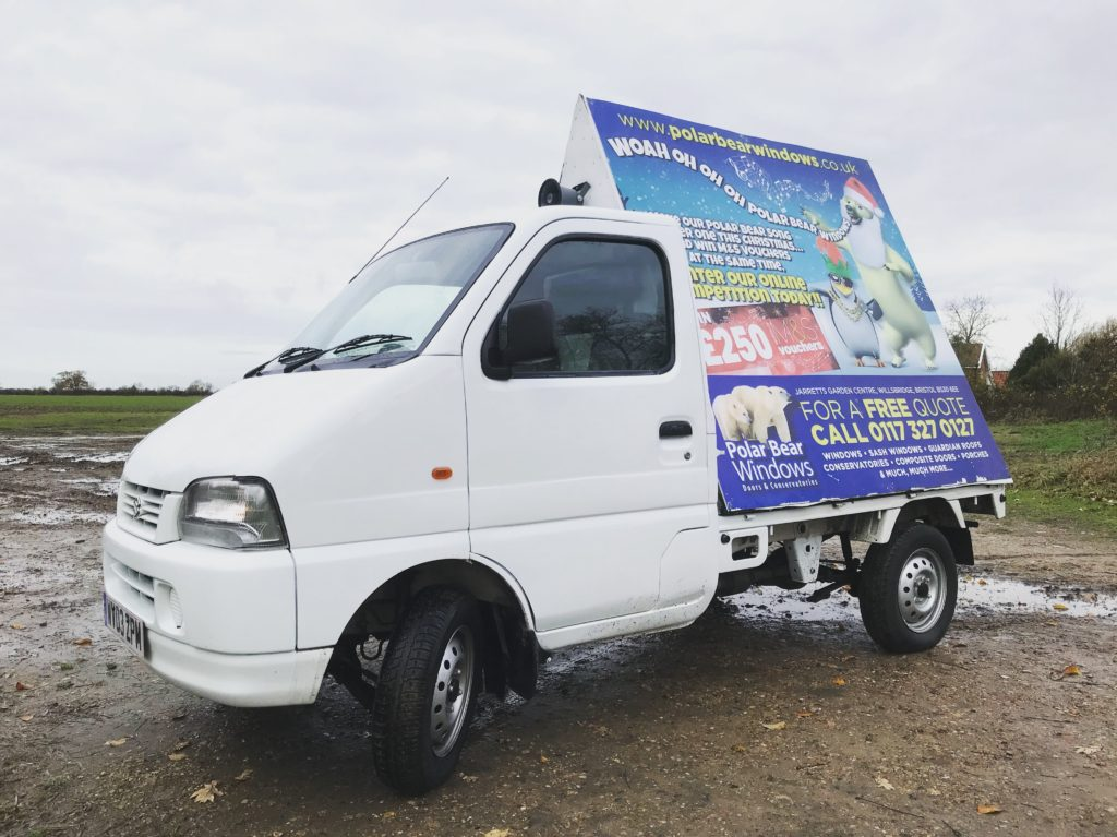 Little AdVan Co. Mobile Advertising Norfolk Suffolk
